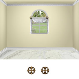 Large medallian-2pc-classic